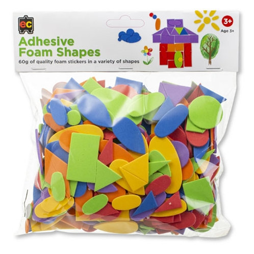 Adhesive Foam Shapes 60gm