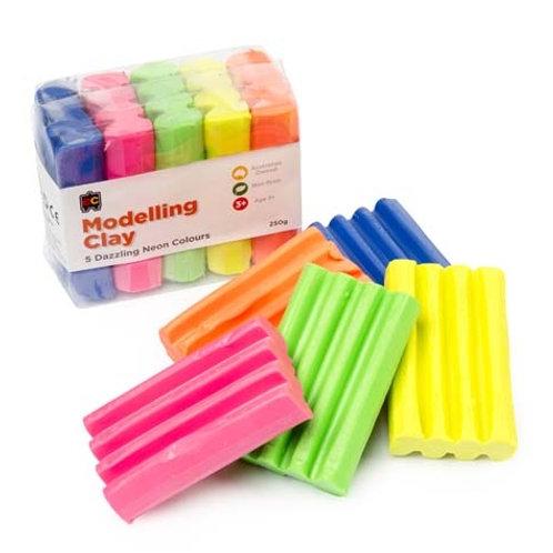 Fun Clay Fluoro 5 Colours