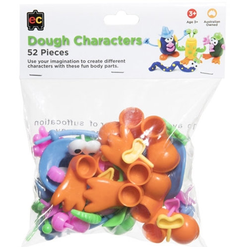 Dough characters - 52 pieces