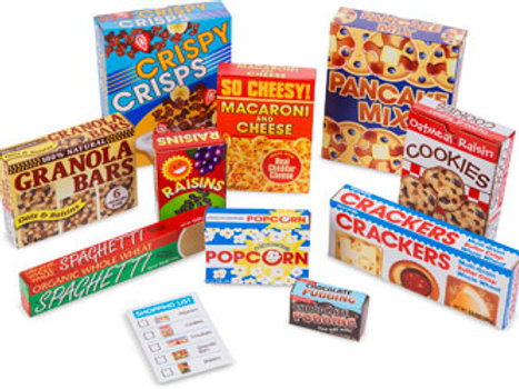 Melissa & Doug - Grocery Boxes