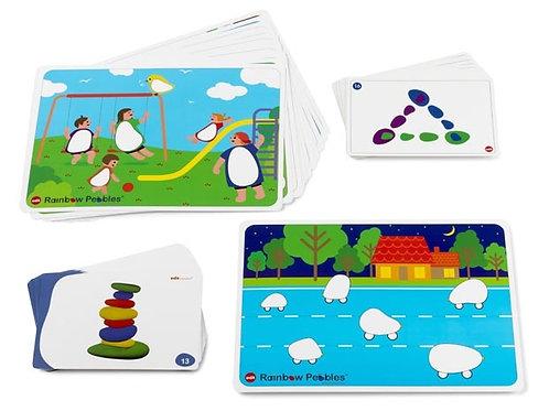 Rainbow Pebbles Activity Cards Set 47