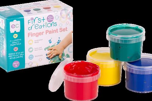 Finger Paint Set of 4