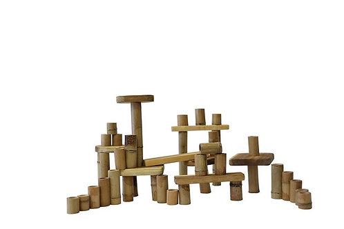 Bamboo building set 46 pcs