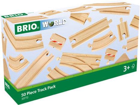 BRIO Tracks - 50 Piece Track Pack