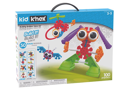 K'nex Budding Builders Value Set