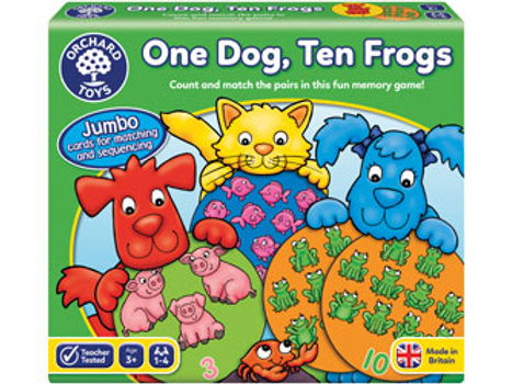 Orchard Game - One Dog, Ten Frogs