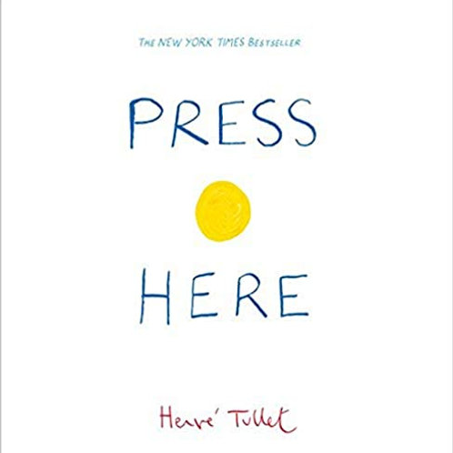 PRESS HERE by Herve Tullet (Big Book)