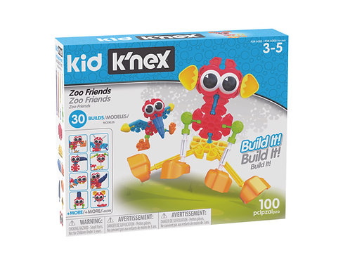 K'nex Zoo Friends