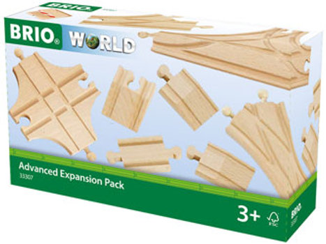 BRIO Tracks - Advanced Expansion Pack, 11 pieces