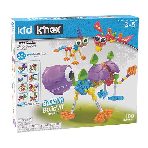 K'nex Dino Dudes Building Set