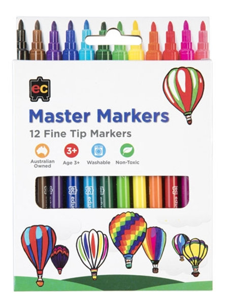 Master Markers Packet of 12