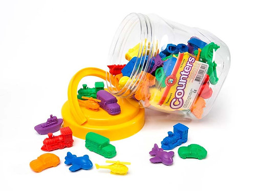 Transport Counters Jar of 72