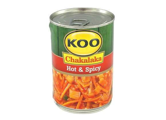 Chakalaka - Hot & Spicy