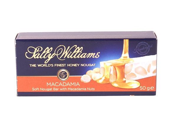 SALLY WILLIAMS Nougat Macadamia