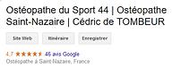 Ostéopathe du Sport 44  Ostéopathe Saint