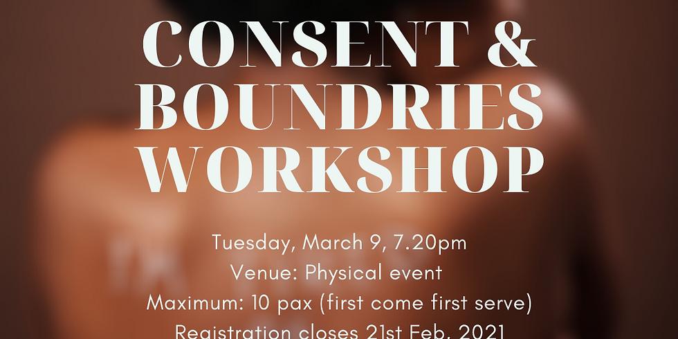 Workshop: Consent & Boundaries