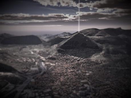 Bosnian-Pyramid-of-the-Sun-energy beam.j