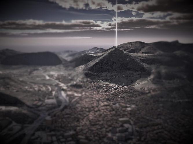 Bosnian-Pyramid-of-the-Sun-energy beam.jpg