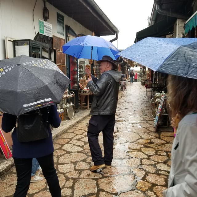 Walking tour of Sarajevo with Dr. Sam