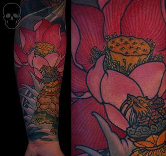 tattoo by max core aka mcsim