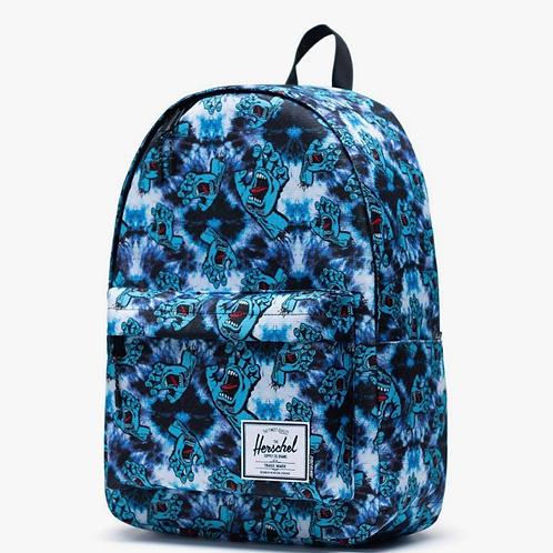Santa Cruz x Herschel classic backpack XL tie dye/screaming hand
