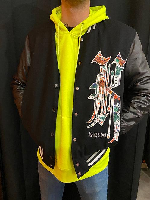 Kaliking jacket black/gaming