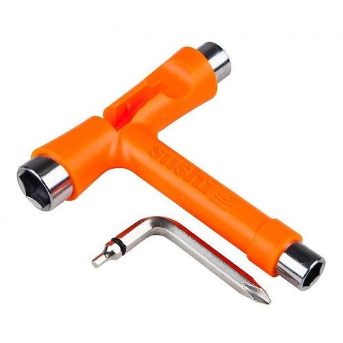Sushi skateboards T-tool key orange