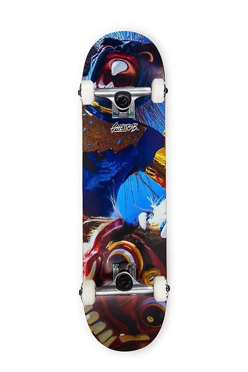 """Ghettoblaster skateboard completo mask 8"""""""