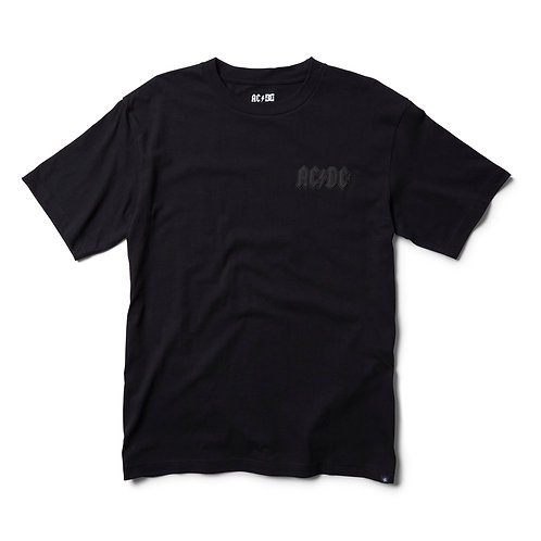 DC shoes x ACDC limited edition t-shirt back in black