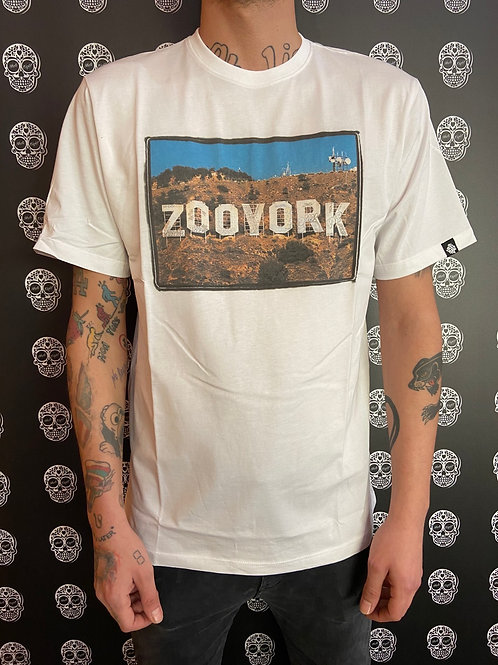 Zoo York t-shirt new Hollywood white