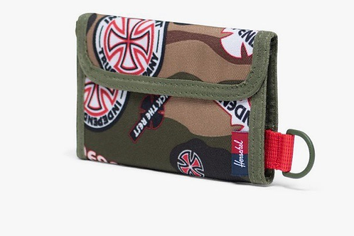 Independent x Herschel fairway wallet camo