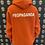 Thumbnail: Propaganda logo hood orange