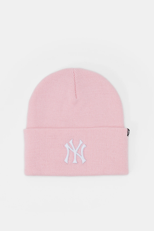 47' brand beanie new york yankees pink