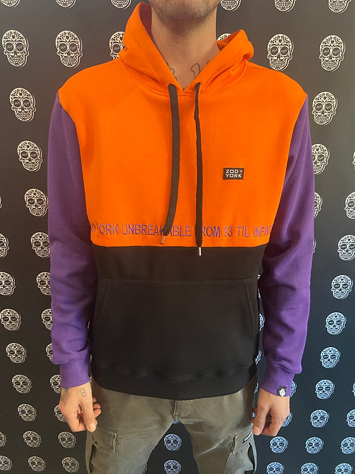 Zoo York unbreakable black/orange/purple