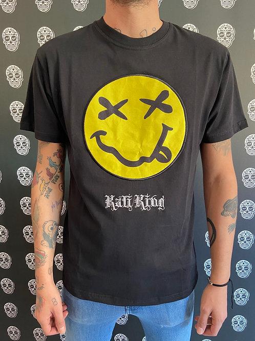 Kaliking t-shirt big smile/black