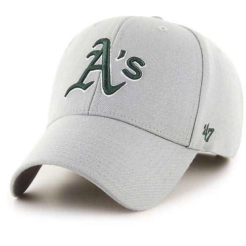 47 brand athletichs cap grey