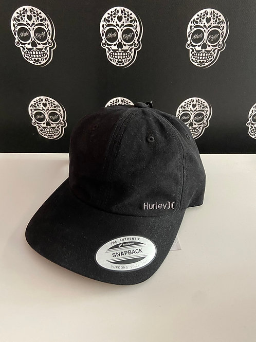 Hurley by nike cap small logo black