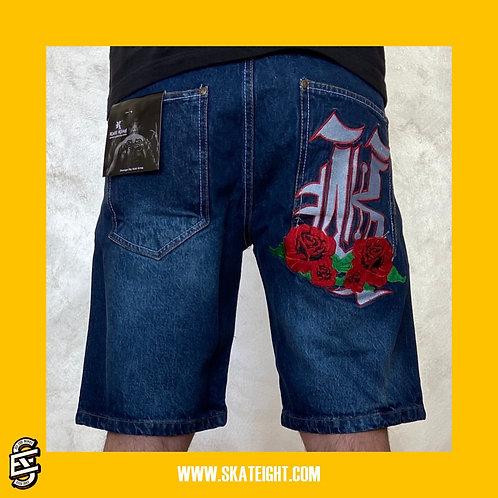 Kaliking rose short jeans