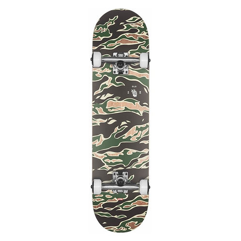 """Globe G1 full on complete tiger camo 8"""""""