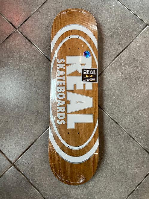"Real skateboard oval pattern slick  8,25"" x 32"""