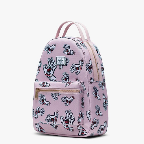 Santa Cruz x Herschel nova backpack small pale maui/screaming hand