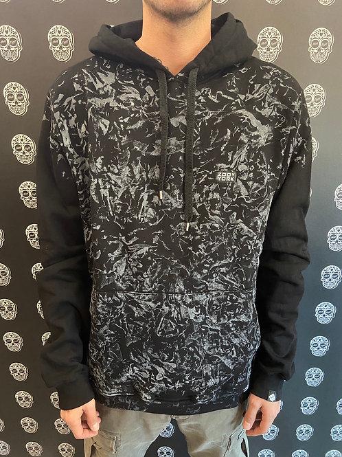 Zoo York hoodie black/marmorized
