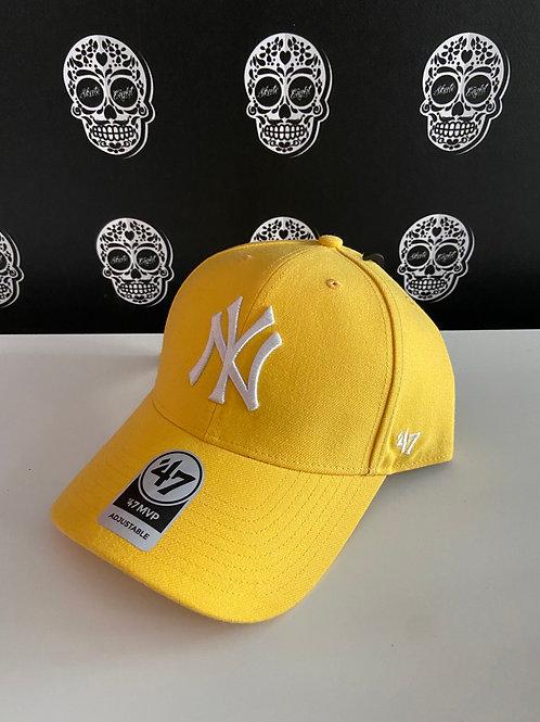 47' brand cap newyork yankees yellow