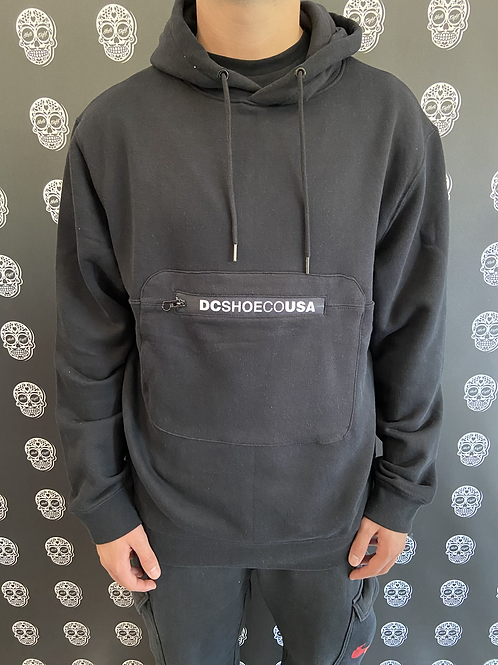 DC shoes hoodie logo black