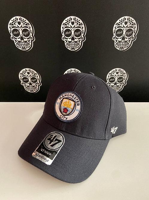 47' brand cap Manchester city navy
