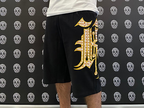Kaliking short gold/white
