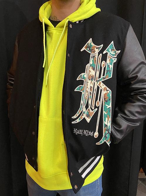Kaliking jacket camo/black