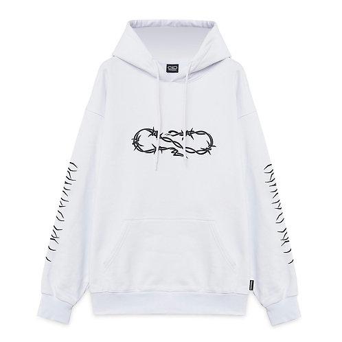 Propaganda XV wire hoodie white