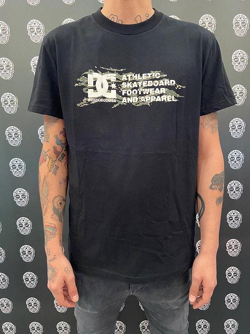 DC shoes t-shirt classic logo camo tiger