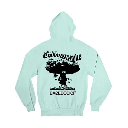 Basedodici aquamarine hoodie